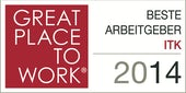 Great Place To Work - Bester Arbeitgeber ITK 2014
