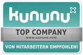 Kununu-Siegel Top Company