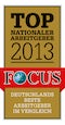 Focus - Top nationaler Arbeitgeber 2013