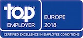 Top Employers Europe 2018