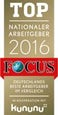Focus Top Nationaler Arbeitgeber 2016