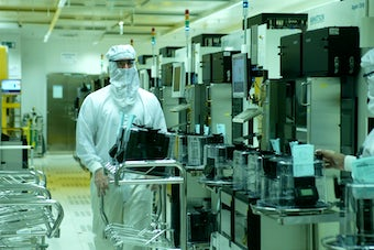 Texas Instruments Cleanroom